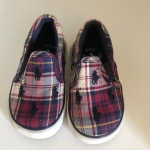 Polo baby boy shoes